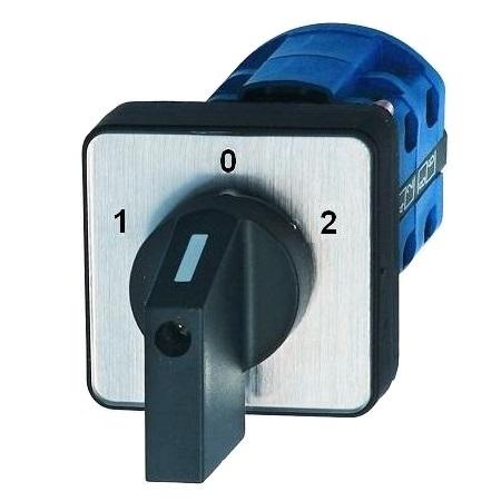 0-Y-∆ 1-0-2 L-0-R 16-160A Nockenschalter Drehschalter Wendeschalter 0-1