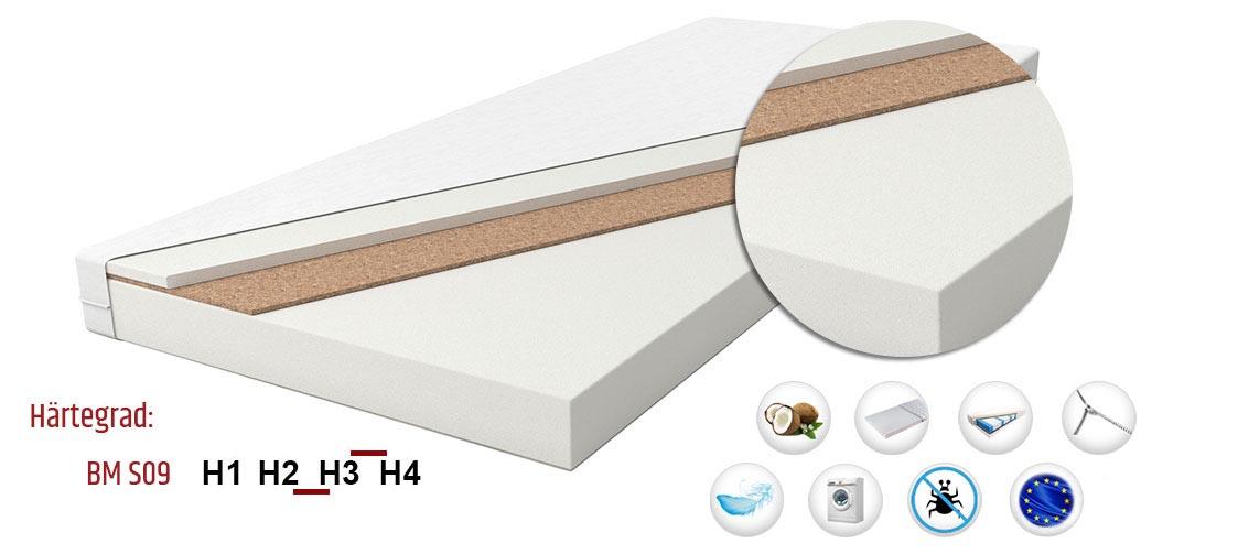 massage schaum kokos komfortschaummatratze kaltschaum bezug h2 h3 hr schaumstoff ebay. Black Bedroom Furniture Sets. Home Design Ideas