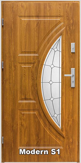 t r haust r eingangst r stahlt r 80 90 modern s1 s2 s3 s4 wei verglasung ebay. Black Bedroom Furniture Sets. Home Design Ideas