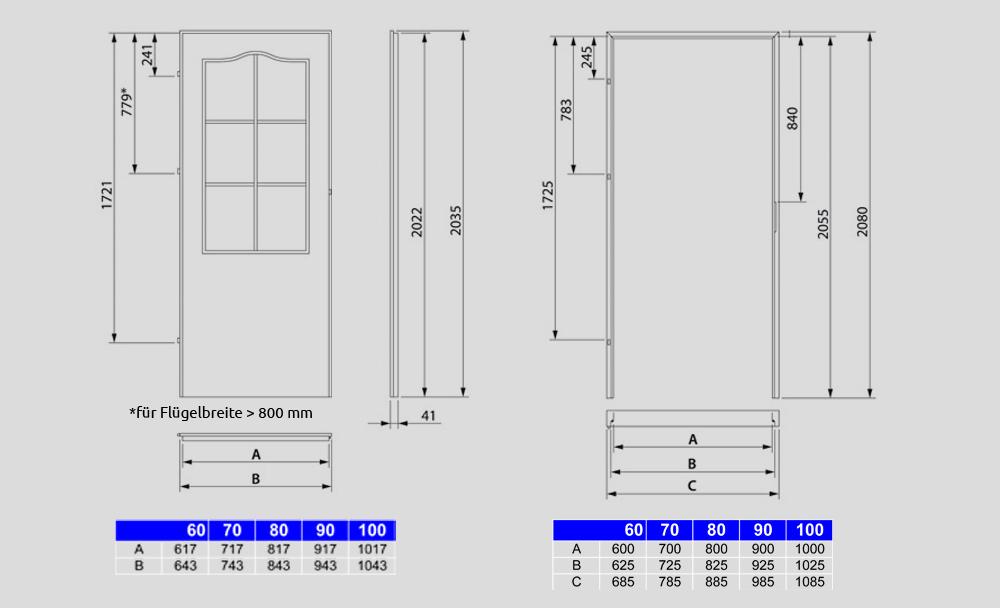 t r ezka schiebet r zimmert r innent r doppelt r 60 70 80 90 100 auch wei ebay. Black Bedroom Furniture Sets. Home Design Ideas