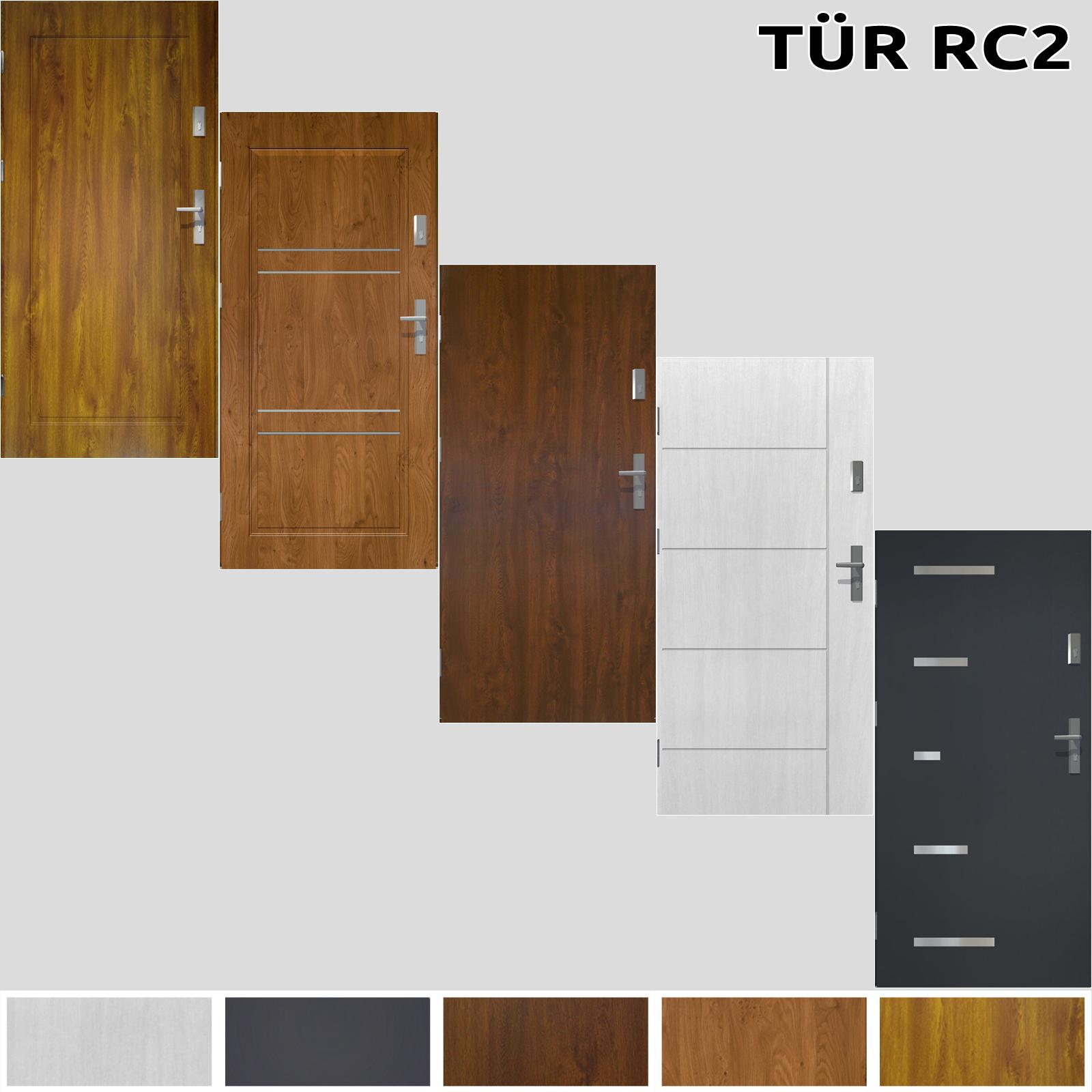 t r prime55 rc 2 4 haust r eingangst r stahlt r 80 90 100 wohnungeingangst r ebay. Black Bedroom Furniture Sets. Home Design Ideas
