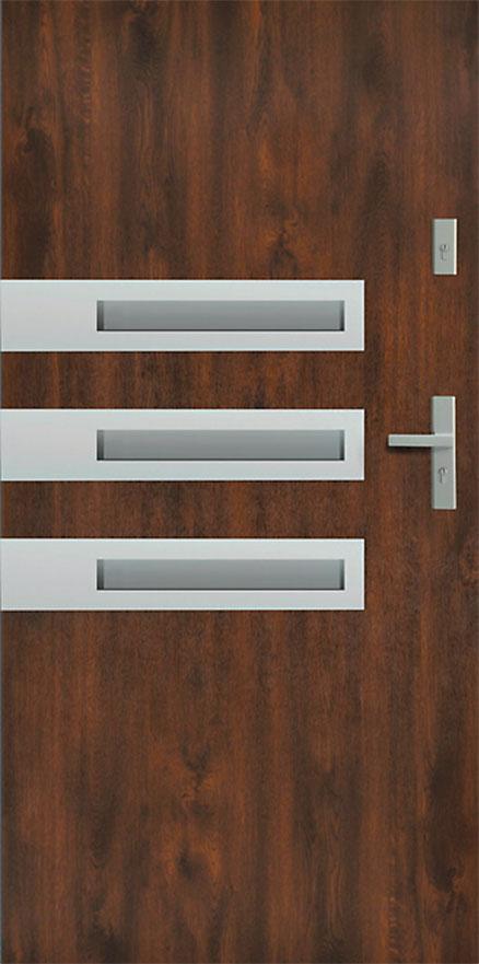 t r stahlt r haust r eingangst r 65 mm warm wega 90 goldeiche nuss anthrazit ebay. Black Bedroom Furniture Sets. Home Design Ideas